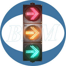 Traffic Light Order Installation Order Of Different Combinations Of Traffic Signal