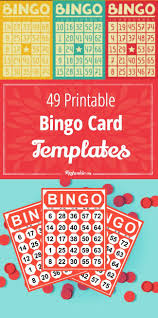 49 printable bingo card templates tip junkie