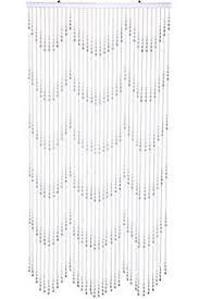 Amazon Beaded Curtains Amazon Com Shopwildthings Beaded Curtain Raindrops Purple Acrylic