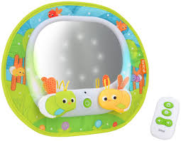 baby car mirror with light brica deluxe baby in sight magical firefly mirror pin pin