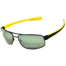 tag heuer lrs 0251 111 men u0027s matte black yellow polarized lens