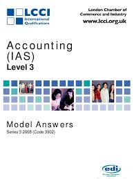 accounting ias level 3 series 3 2008 code 3902 goodwill