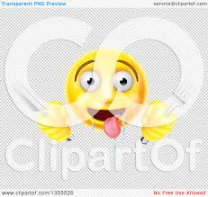 knife emoji clipart of a 3d yellow hungry male smiley emoji emoticon holding a
