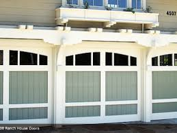 wood garage door ranch house collection garage door styles for