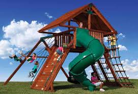Playground Sets For Backyards by Choose Backyard Adventures U0027 Peak Play Sets For Summer Fun