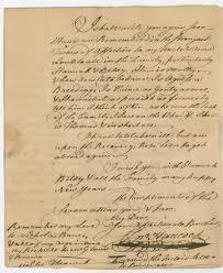thanksgiving proclamation 1789 john hancock writes his brother with seasons greetings inquiring