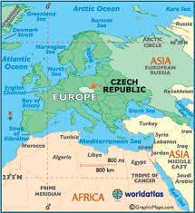 czech republic map geography of czech republic map of czech