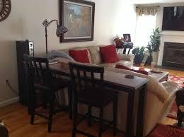 Hemnes Sofa Table Behind Sofa Console Table Diy Centerfieldbar Com