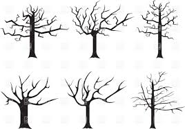white dead tree clip art at vector clip art clipartbarn