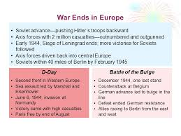 siege axis the end of war ii and outcomes soviet advance pushing
