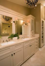 Vanity Bathroom Mirrors 42 White Bathroom Vanity Bathroom Traditional With Bathroom Mirror