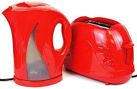 Red Polka Dot Kettle And Toaster Slice U2013 Kettle Benefit
