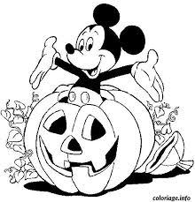Coloriage halloween disney  JeColoriecom