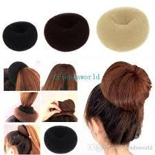 pop bands hair 2018 hot selling hair rubber bands hair volumizing scrunchie donut