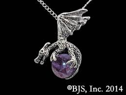 silver dragon pendant necklace images Enameled dragon ball necklace jpg