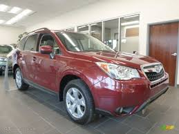 subaru forester 2017 red 2016 venetian red pearl subaru forester 2 5i limited 106811207