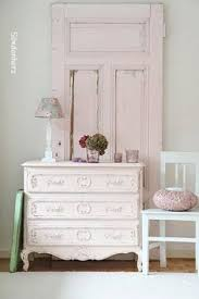 Pink Shabby Chic Dresser by Antique Shabby Chic Dresser With Mirror Walnut Stained Top