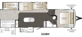 Outback Floor Plans 2015 Keystone Outback 323bh