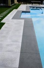 black tapestry granite pool coping flamed finish pool and