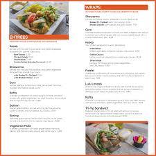 menu tofas mediterranean grill