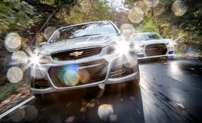 Chevy Malibu 60s 2014 Chevrolet Ss Vs 2013 Dodge Charger Srt8 392 U2013 Comparison