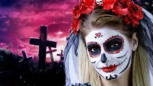 lovely skull bride halloween makeup tutorial ilinca wolff