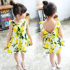 2017 sale summer baby flouncing sleeve lemon printe vest
