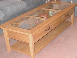 coffe table cool coffee table display case room design ideas