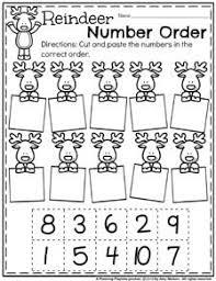 december preschool worksheets preschool reindeer and worksheets