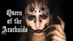 Spider Makeup Halloween by Queen Of Arachnids U0027 Spider Makeup Tutorial Youtube