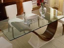 tavoli di cristallo sala da pranzo idee di base tabella elegante vetro foto design casa idee vetro