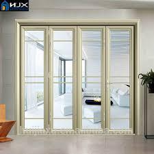 Aluminium Folding Patio Doors Aluminum Bi Folding Door Folding Patio Doors Folding Exterior
