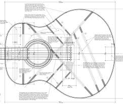 fork work this is guitar body plans for free
