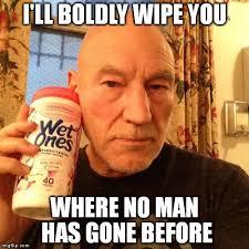 Patrick Stewart Meme Generator - image tagged in patrick stewart imgflip