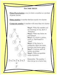 prime factorization tree worksheets number recognition worksheets