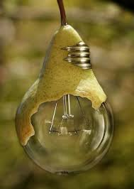 pear light bulb morphing by fluentwater photoshop artwork two in