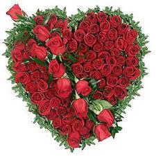 Love Flowers Exotic Red Roses Heart Full Of Love Flowers 212 Flowers