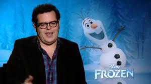 josh gad method play olaf snowman u0027frozen u0027