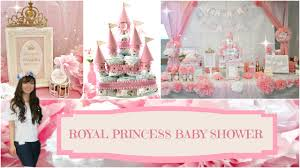 diy royal princess baby shower angie lowis youtube