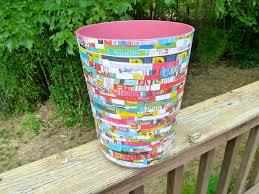 make it easy crafts recycled waste u2014wastebasket