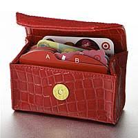 gift card organizer card cubby the way to carry your store rewards and gift