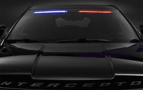 Led Light Bar Police by Ford U0027s New Police Car Goes Stealthy By Hiding The Light Bar
