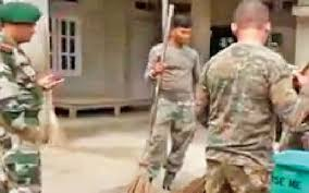 list of assam rifles nagaland assam rifles unit allegedly litters cleans up