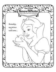 47 art coloring disney snow white images
