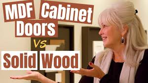 is mdf better than solid wood what wood is best for kitchen cabinets mdf or solid wood