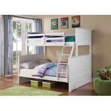 Amazon Com Bunk Bed All In 1 Loft With Trundle Desk Chest Closet by Twin Over Full Bunk U0026 Loft Beds You U0027ll Love Wayfair