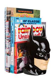 Book End Dc Comics Ceramic Batman Head Bookend