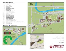 Arizona State University Campus Map by Campus Map U003c Valley City State University