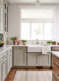 green kitchen cabinets with white countertops 25 winning kitchen color schemes for a look you ll