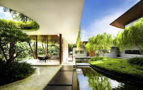 Nature Concept In Interior Design Architecture Bright Interior Design Idea Applied In The Willow